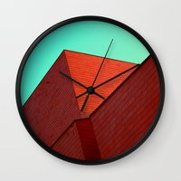 office Wall Clocks featuring BOX OFFICE by DANIEL COULMANN