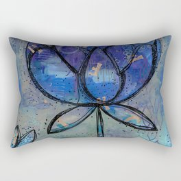 Abstract - Lotus flower - Intuitive Rectangular Pillow