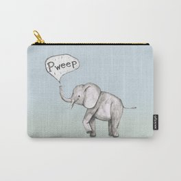 Cute elephant Carry-All Pouch