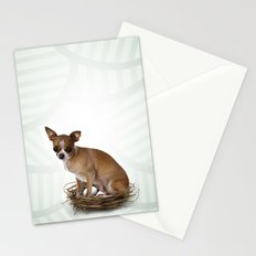A little confused Stationery Cards