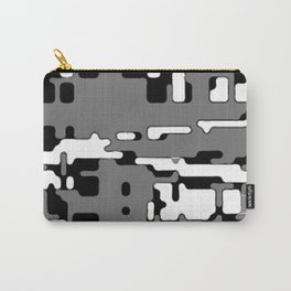 jitter, b&w 8 Carry-All Pouch