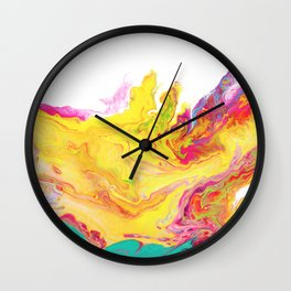 Phoenix Fire Wall Clock