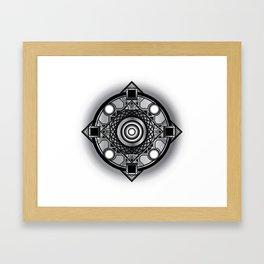 Crest Framed Art Print