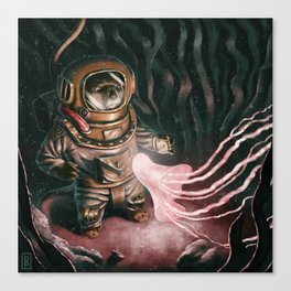 Deep Sea Diver Canvas Print