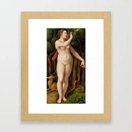 Diana the Huntress Framed Art Print