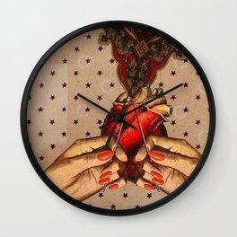 OPEN HEART Wall Clock