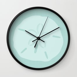 Sand Dollars Wall Clock