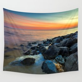 Never Give Up Wall Tapestry