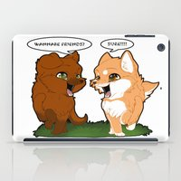 friendship iPad Cases featuring Friendship by DyaniArt