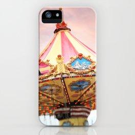 dusk at the fair iPhone Case