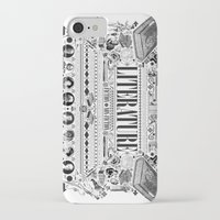 literature iPhone & iPod Cases featuring Literature Poster by Ryan Huddle House of H