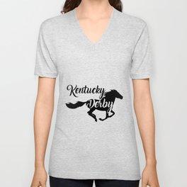 Kentucky Derby the best Running horse Unisex V-Neck