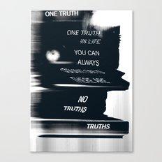 Truths Canvas Print