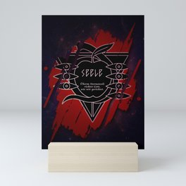 Evangeliona Seelea Mini Art Print