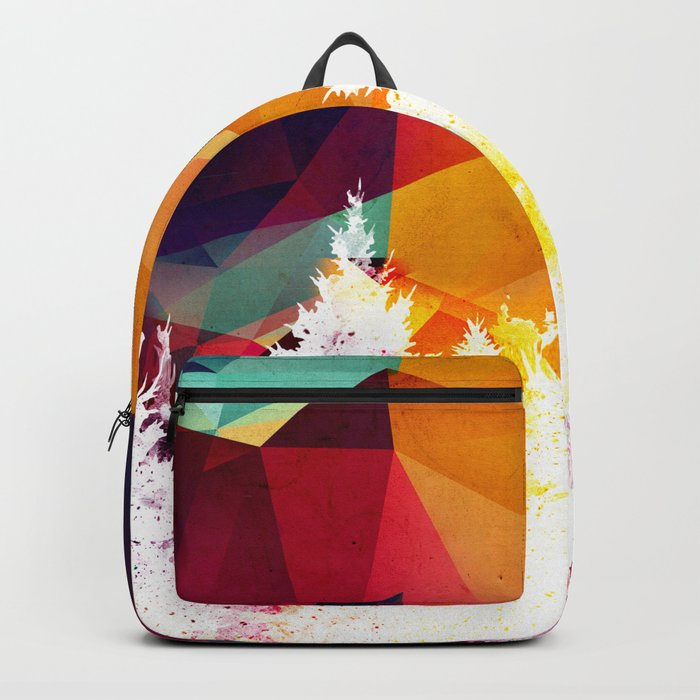 Forest explosion of color Backpack