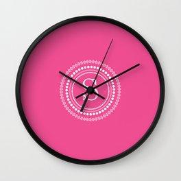 Circle of S Wall Clock