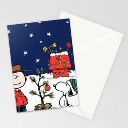Movie A Charlie Brown Christmas Peanuts Snoopy Cha Stationery Cards