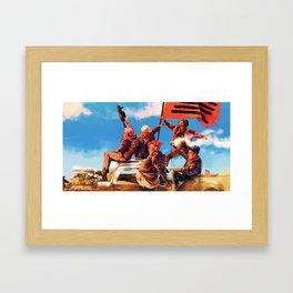 BiGBANG meets Mad Max Framed Art Print