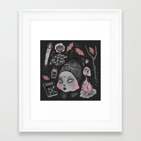 loll3 Framed Art Prints featuring Magical ϟ Autumn by lOll3