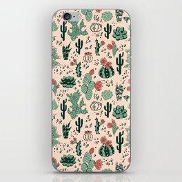 Succulent Desert iPhone Skin