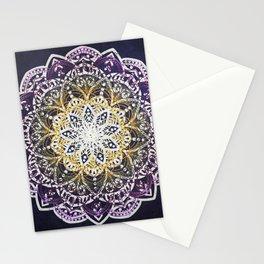 Glowing Mandala Stationery Cards