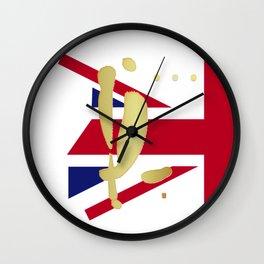 YL in London Wall Clock