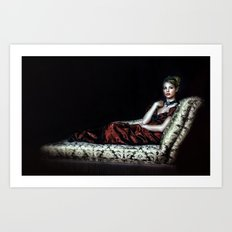 The Chaise Art Print