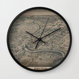 Belton 1881 Wall Clock
