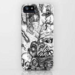 Ink Dream Sketch iPhone Case