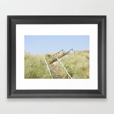 Sanddune, Egmond aan Zee Framed Art Print