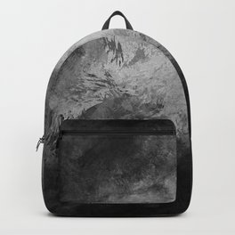 Dark splashed background Backpack