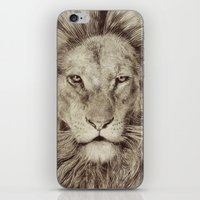 leo iPhone & iPod Skins featuring Leo by Eric Fan