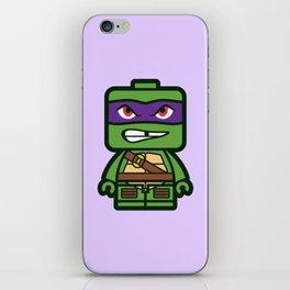 Chibi Donatello Ninja Turtle iPhone Skin