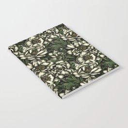 Botanic white Notebook
