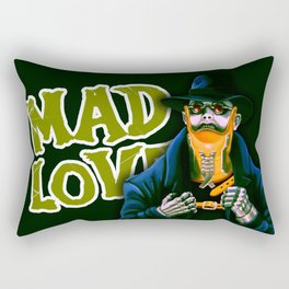 Dr. Gogol's Mad Love Rectangular Pillow
