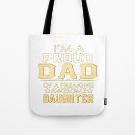 I'M A  PROUD DAD Tote Bag