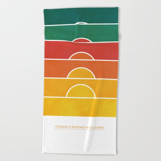 No regrets Beach Towel