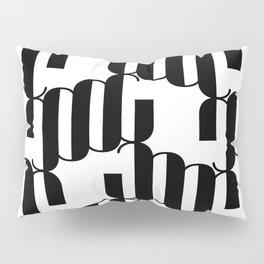 LETTERNS - J - Broadway Pillow Sham