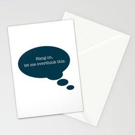 Overthinking It Stationery Cards