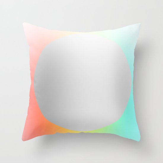 Subtle 1 Throw Pillow