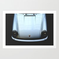 porsche Art Prints featuring Porsche  by Barbo's Art
