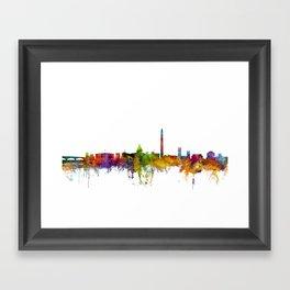 Washington DC Skyline Framed Art Print