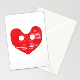 A Rower's Heart Stationery Cards