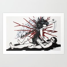 Do Avenging Angels Wear Knickers? Art Print