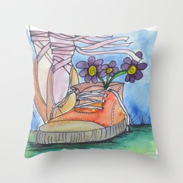 Ballet contemporaneo Throw Pillow