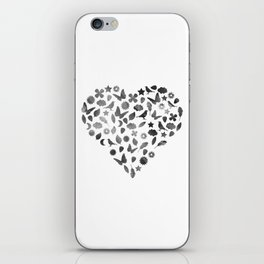 Love Heart iPhone Skin