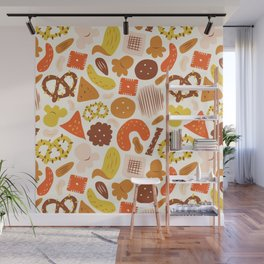 Snacks Wall Mural