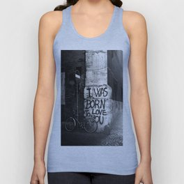 I Was Born To Love You Unisex Tank Top