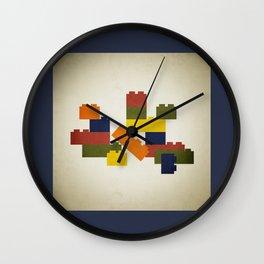 Legos Wall Clock