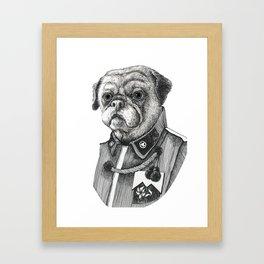 Mr. Pug Framed Art Print